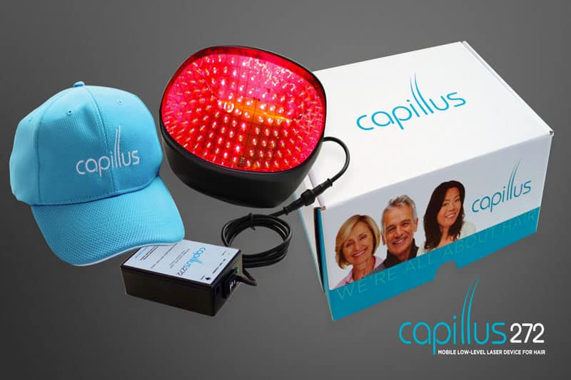 Regrow Lost Hair with Capillus Laser Hair Restoration Cap